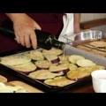 Padlizsán sütőben sütve