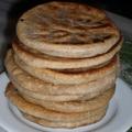 Alu paratha - lepény burgonyás töltelékkel