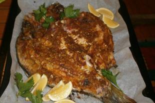 A hal a rizs és a saláták