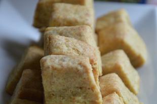 Sós teasütemény teljes kiőrlésű lisztből
