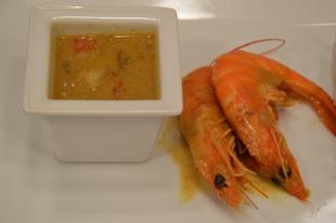 Egyszerű garnéla curry