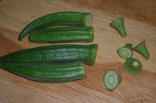 Bámia és más zöldségek egy raguban