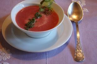 Céklakrém leves
