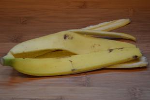 A banánhéj az új szuper élelmiszer