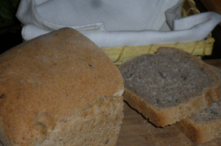 Magos teljes kiőrlésű tönkölybúza kenyér