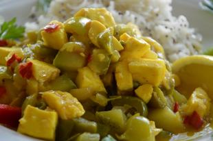 Gyors cukkini curry