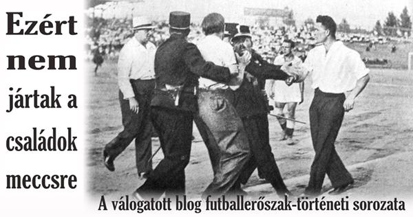 """""""Lekardlapozom magukat a pályáról, ha nem megy simán a mérkőzés."""" – Bajnoki forduló 1923-ban"""