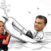 Orbán tengernagy úr! Süllyedünk!