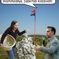 Magyar földre fidesz parasztot!