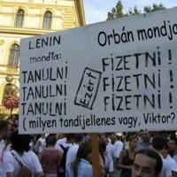 Orbán felsőoktatása: mindent te fizetsz