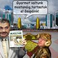 Orbán Borat menni Kazahsztán