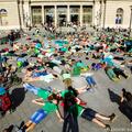 Flashmob a budapesti fákért
