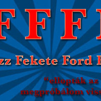 Harc az autótolvajok ellen - Fotózz Fekete Ford Fiestát