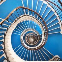 Budapesti lépcsőházak úgy, ahogy még nem láttad