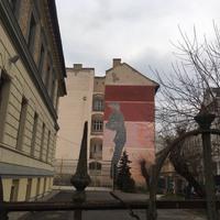 Budapest rejtélyes tűzfalfestménye