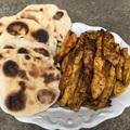 Süsd grillen: indiai csirke naan kenyérrel