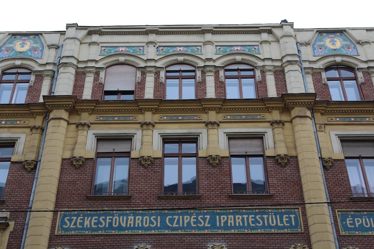 Volt Fővárosi Cipész Ipartestület székháza, Wesselényi utca 17.