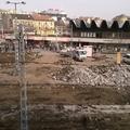 Elkezdték és már zajlik - a Moszkva téri bontás