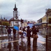 Budapest, a színes esernyők városa