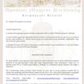 Az Apostoli Magyar Királyság meghívója