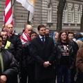 Überciki széljobbos tüntetés az osztrákok ellen