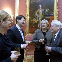 Elnöki díszvacsora Pozsgay Imre 80. születésnapjára