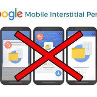 Elkezdte büntetni a Google a mobilos pop-upot