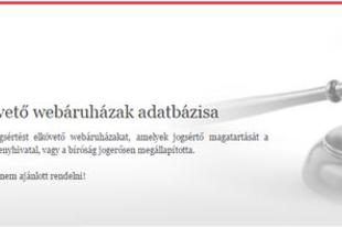 Jogsértő webáruházak - Változóban az online kereskedés szabályozása