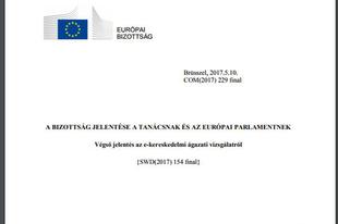 Antitröszt: A Bizottság közzétette az e-kereskedelmi ágazati vizsgálat zárójelentését