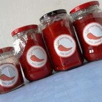 Pirospaprika krém készítése házilag (Piros arany)