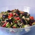 Babos saláta spenótlevelekkel