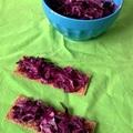 Kapros vöröskáposzta saláta (Robitól)