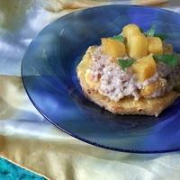 Sült ananászkarika hajdinával (gluténmentes)