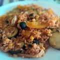 Mediterán rizs (vegán)