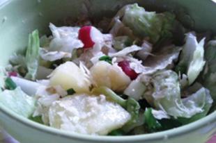 Könnyű tavaszi saláta