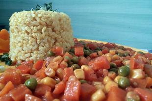 Egyszerű zöldség pörkölt