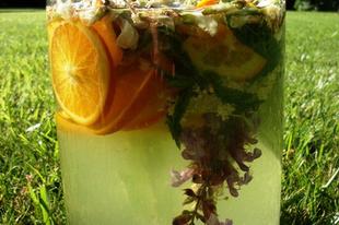 Akácos limonádé