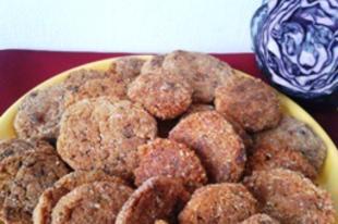 Sárgaborsó fasírt (lisztérzékenyek is fogyaszthatják)