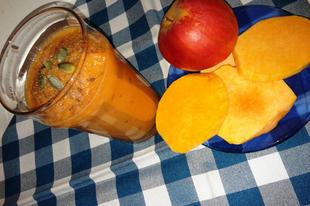 Sütőtökös almás turmix