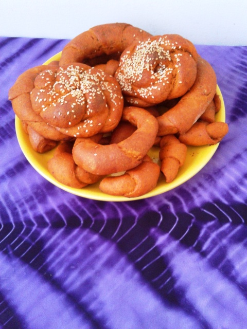 Péksütemények paprikás tésztából