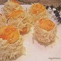 Szakállas pogácsa sajtkrémmel