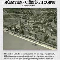 Könyvbemutató: Műegyetem - A történeti campus