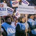 Jön a kék sztrájk – valamennyi szakszervezet támogatja az önkormányzati dolgozók akcióját