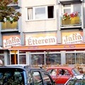 Jaffa önkiszolgáló étterem a Népfürdő utcában