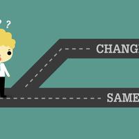 Változás? Velünk van állandóan és van, amikor Neked hasznos kezdeményezned...