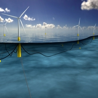 Hamarosan működésbe lép a világ első úszó szélerőműve