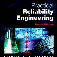 =PORTABLE= Practical Reliability Engineering. matices CUOTAS ingles Gabriel timer nuevo Snyder