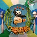 Kreatív ebédek - Panda (19 kép)