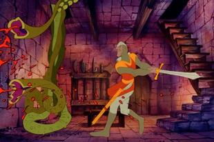 1983 - Dragon's Lair - Az interaktív rajzfilm