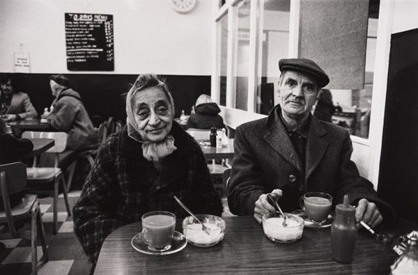 Bradfordi kávézó az 1970-es évek elején